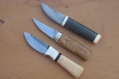 Kolekce malých severských nožů