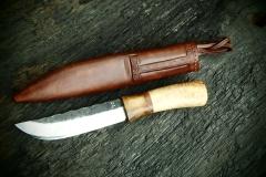 Sever kovaný nůž
